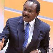 Opinion: Why Kalonzo Musyoka Might Move Out Of One Kenya Alliance Before 2022
