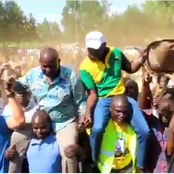 Photos: UDA Takes Matungu By Storm As They Campaign For Their Candidate Alex Lanya