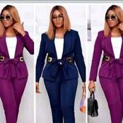 Ladies, begin the week with these unique corporate wears that will make you look attractive