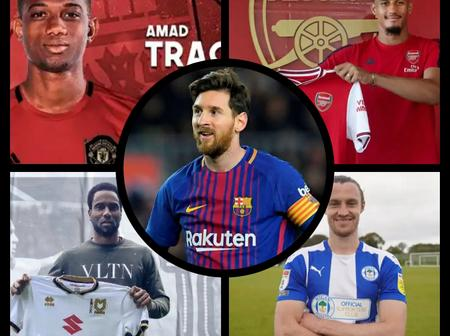 Latest Transfer News Across Europe, Update On Lionel Messi, Amad Traore, William Saliba and Others.