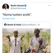 See the meaning of what Buhari's media aide said after Elrufai's son uploaded a photo of farmers