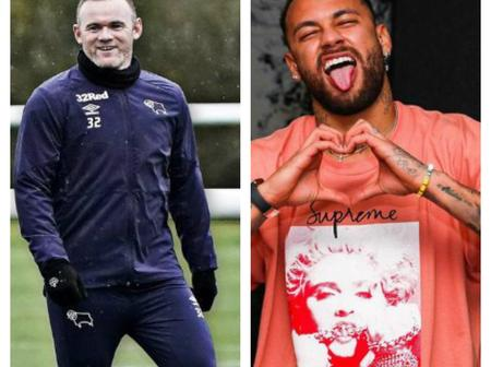 Wayne Rooney's Son Vs Neymar Jr's Son, Who Has More Swag? (Pictures)
