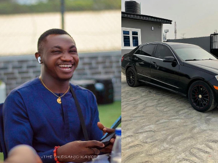 Check Out The Mercedes Benz That A Twitter Influencer Bought That Has Got People Talking