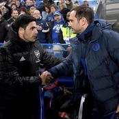 Frank Lampard compared to Arsenal boss Mikel Arteta, after he was sacked from Chelsea.