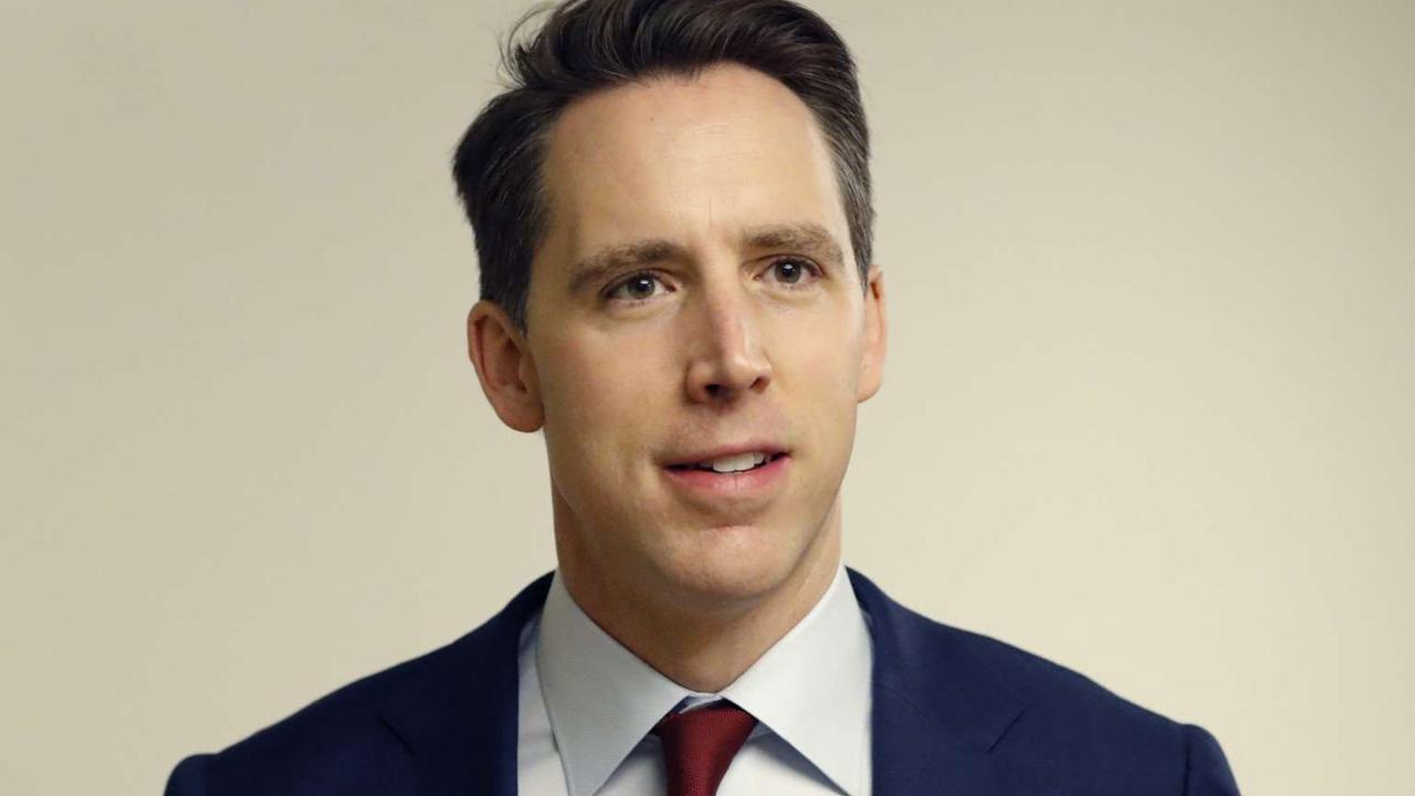Josh Hawley tries to outflank Biden on Middle East wars