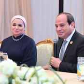 زوجة الرئيس السيسي تكشف سر عن مسلسل الاختيار وهذا قارئها المفضل