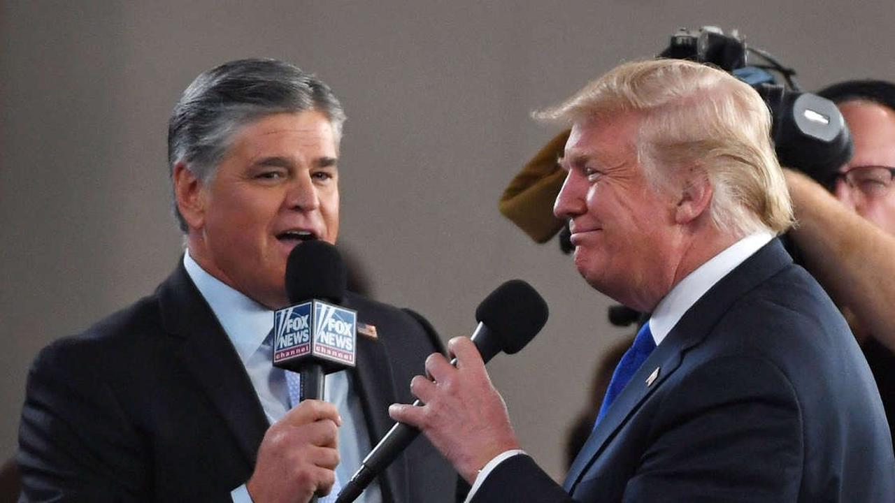 Sean Hannity's new house is walking distance from Donald Trump's place