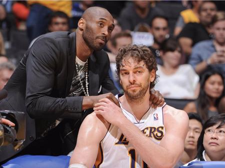 Netizens Around The World Awed By What Pau Gasol Has Been Doing To Kobe Bryant's Family