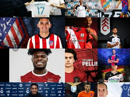 100% Completed Done Deals Yesterday, Check Out Whom Your Team Signed.