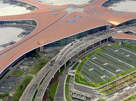 Inside China's Newly Built $18 Billion Daxing International Airport. (See Photos)
