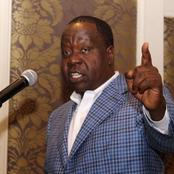 The Government Of Uhuru Has Made A Good Threat To Withdraw Guns From Leaders Unified To Ruto