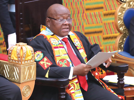 Prof Mike Aaron Oquaye reveals the reason why he protected Mahama Ayariga from the Police