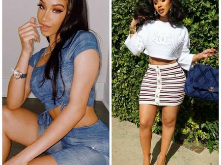 Checkout 10 Hotter Pictures Of A 19-Years-Old Model Who Looks Like Cardi B (See Photos)