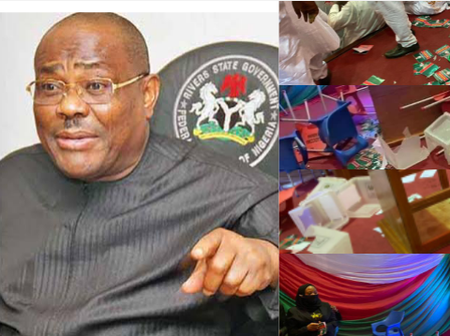 Today's Headlines: Wike Says Nobody Can Choose His Successor, Thugs Disrupt PDP Congress