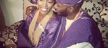 THROWBACK: Wedding Photos of Tiwa Savage and her husband, Tee Billz