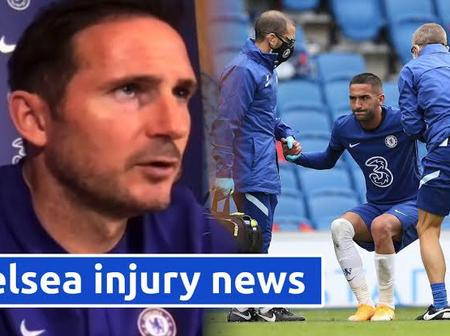 Final Training session leaves £120,000 a week Chelsea star injured and will miss tonight's fixture