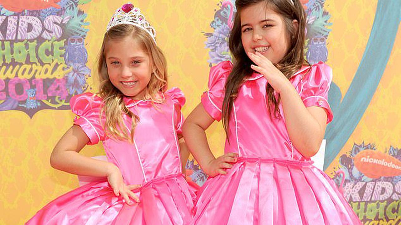 All grown up! Sophia Grace and Rosie star McClelland doesn't look like this anymore as the 14-year-old makes a rare TV appearance after rising to fame on the Ellen DeGeneres Show