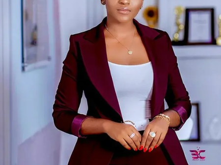 Meet The Most Beautiful Ghanaian Journalist With Great Sense Of Fashion