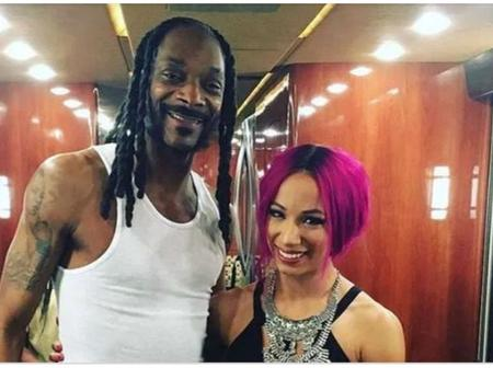 How Is Sasha Banks Related To Snoop Dogg