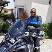 Photos of Nigerian pastors with power bikes