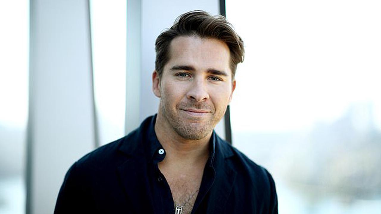 'It just so happened I met a guy': Hugh Sheridan says they 'weren't opposed' to falling in love with a female before meeting fiancé Kurt Roberts