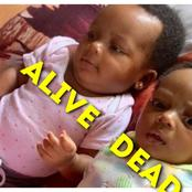 See the twin sister of the baby who died in a hospital after doctors failed to attend to her