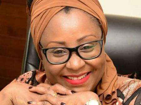 Mrs Hadiza El-Rufai Was Seen On Her Large Farm Today (Pictures)