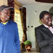 See The President Who Paid Migori Governor A Courtesy Call This Sunday