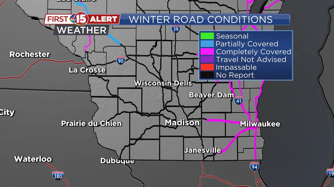 FIRST ALERT DAY: Snowy roads will impact Wednesday morning commute