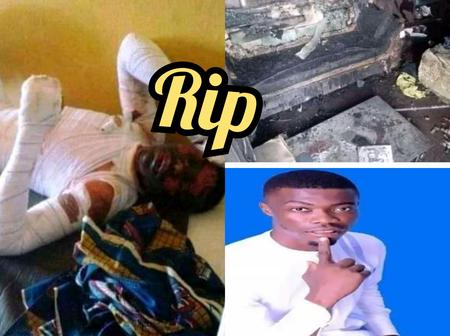 RIP: 18-Year-Old Girlfriend Burnt His Boyfriend To Death, See What Happened