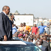 Uhuru's Unexpected Stop Over at Juja Town Leave Kenyans Amazed