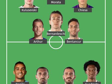 Ronaldo Out, Ramsey Out, Morata In, Juventus Lineup Vs Dynamo Kiev