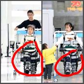 China did it again! This 7-year-old girl has a spinal injury, see what they created to make her walk