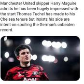 See What Maguire Said Ahead of Their Next Game That Might Turn Against Him If Chelsea Win Tomorrow