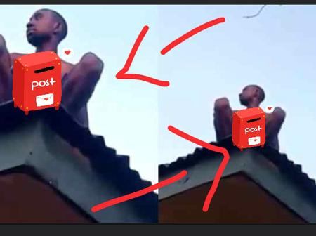 Alleged Wizard Returning From Coven Crash Lands On Rooftop in Delta State (Video)