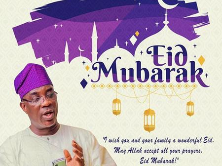 K1 De Ultimate, Laide Bakare, Mercy Aigbe, Lateef Adedimeji Celebrates Eid-el-Fitri With Muslim Fans