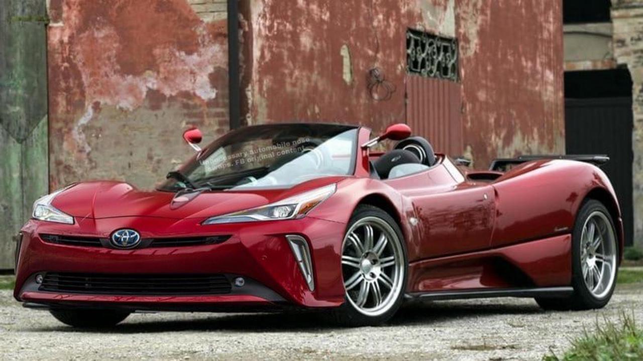 Automobile : Un artiste crée un visuel de mélange entre une Toyota Prius et une voiture de course