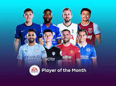 EPL nominees for player of the month of March.