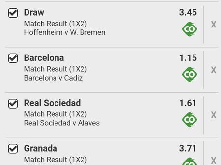 Well Analyzed Spanish Laliga And Germans Bundesliga Matches With 187 Odds To Earn Huge Money Today.