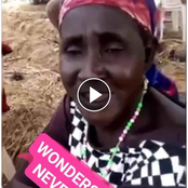 Hilarious Video: Elderly Nigerian Woman Boldly Sang Popular Praise & Worship Songs Using Wrong Words