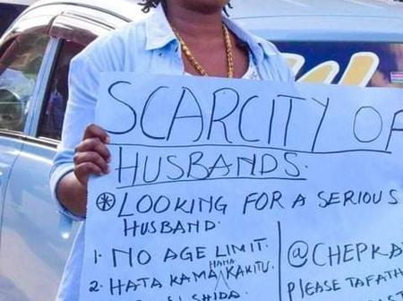 Shortage Of Men As Woman Takes To The Streets Looking For A Husband