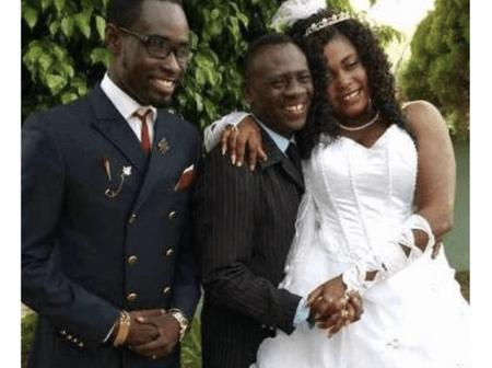 Check Out Photos Of Akrobeto, One Of Ghanaians Favorite Actors And His Beautiful Wife.
