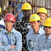 Most Of the Chinese Workers Working At Projects In Africa Are Prisoner Doing Manual Labour