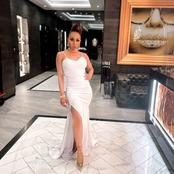 Khanyi Mbau left fans in a frenzy with her recent elegant look on social media.