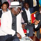 Nyeri MCA Kiruga Thuku Asks Raila Odinga To Do This To William Ruto