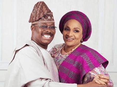 Months After Ajimobi Died & Buried In AC Burial Ground, See What Happened To His Wife's Supermarket