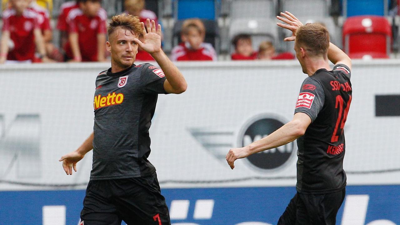 2. Bundesliga: Jahn Regensburg muss sich mit Remis begnügen