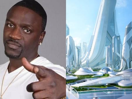 American Singer Akon To Build & Complete A Futuristic City In Uganda By 2036
