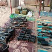 Read How Nigerian Security Intercepted Loads Of AK47 Rifles, RPGs, Others Smuggled In From Libya