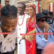 That wow moment when Stonbwoy grabbed the mic to perform at Roseline Okoro's traditional wedding[see